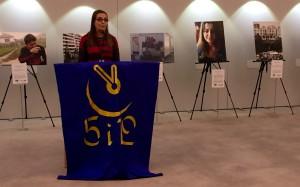 Bodil Valero stod värd för 5i12-rörelsens årliga manifestation i EU-parlamentet.