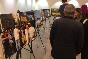 I samband med manifestationen invigde Bodil Valero en fotoutställning på temat segregation.